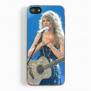 Taylor Swift In Concert for iphone 5 and 5c case