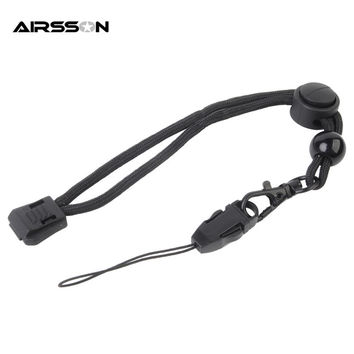 Airsoftsports Tactical Military Paracord Strap Lanyard For Flashlight Keys Knife Camera Phone For Outdoor Hiking Camping Sports