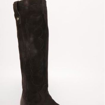 Liberty Black Felicity Tall Boots~ Nubuck Grease Black