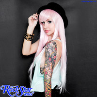 RockStar Wigs® <br> Ombre Alexa™ Collection - Pink to White Fade