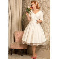 Voodoo Vixen Dorothy Bridal Flare Dress