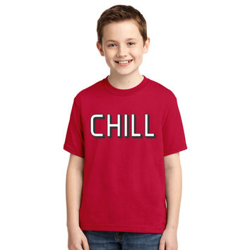 Funny Netflix And Chill Youth T-shirt