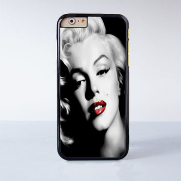 Marilyn Monroe Plastic Case Cover for Apple iPhone 6 6 Plus 4 4s 5 5s 5c