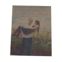 Custom Photo Canvas Vintage Look 8 x 10- personalized with your photo, 8 x 10 vintage canvas, vintage photo