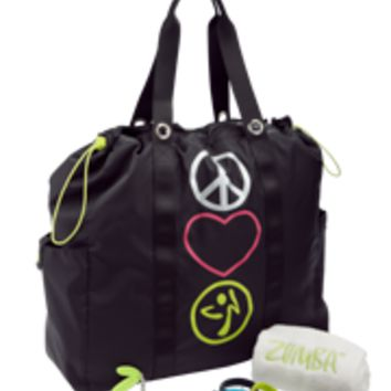 Peace, Love-N-Tote Bag Gift Set