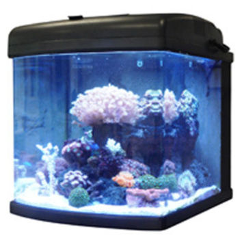JBJ 28 Gallon Nano Cube LED Aquarium - 89 Watt Advanced w/ MTS-60 Cabinet Stand