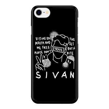 Troye Sivan Art Kiss Me On Mouth Arf 001  iPhone 8 Case