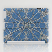 Snowflake Blue iPad Case by Project M