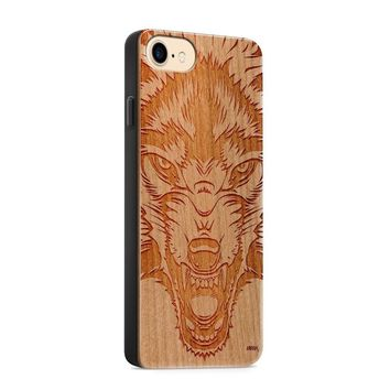 Wood  - Wolf Beast Phone Case