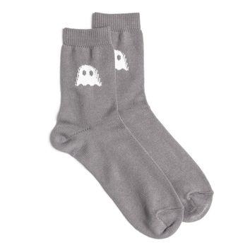 Ghostly Logo Socks - Grey