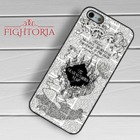 marauders map-1y44 for iPhone 4/4S/5/5S/5C/6/ 6+,samsung S3/S4/S5,S6 Regular,S6 edge,samsung note 3/4