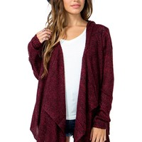 Cozy Hooded Cardigan