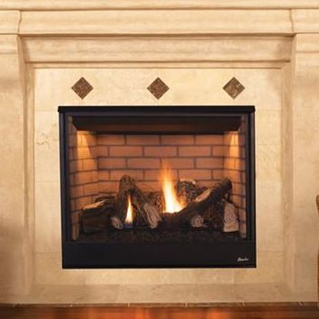 "Superior DRT3535 Pro Series Direct Vent 35"" Electronic Ignition Fireplace"