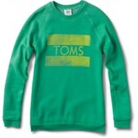 Women's Kelly Green Classic Crew