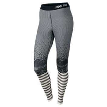 Women's Nike Pro Hyperwarm Engineered Print Tights