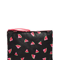 Watermelon Print Cosmetic Pouch