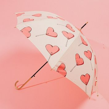 Heart Lolli Umbrella