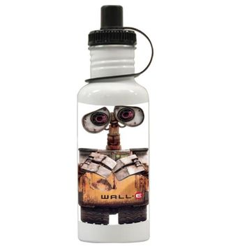 Gift Water Bottles | Wall E Robot Disney Pixar Aluminum Water Bottles