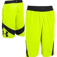 Under Armour Men's EZ Mon-Knee Printed Basketball Shorts