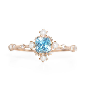 Water Lily Ring - Wedding & Engagement - Catbird