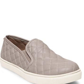 Steve Madden Ecentrcq Slip On Sneakers- Grey