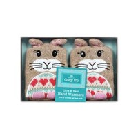 Aroma Home Snuggle rabbit handwarmers- at Debenhams Mobile