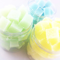 Sugar Scrub Cubes - You Choose 3 Scents - Gift Set or Pamper Yourself