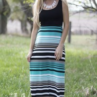 Check Your Back Maxi in Black