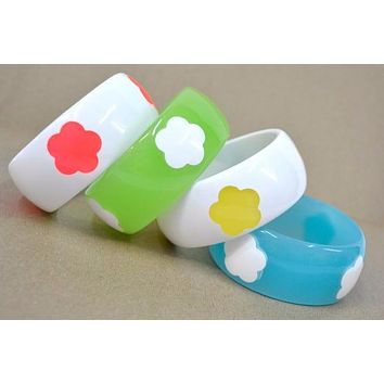 As The Day Goes Day Glow Bangle Bracelet!!