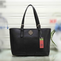 """Tory Burch"" Women Simple Fashion Tote Single Shoulder Shopper Bag  Temperament Casual Large Handbag"