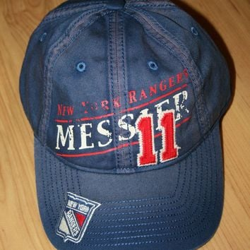 New York Rangers NHL Mark Messier  11 Vintage NEW Snapback Baseb b82b2fe9b1fd