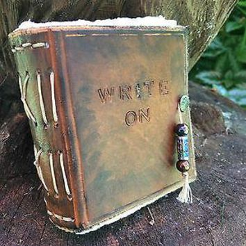 Medieval Leather Writers Blocks, Notebook, Handmade, Unique, Rustic, Mini journals.