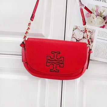 Tory Burch Fashion New Shoulder Crossbody Bag Semicircle Chain Bag 5#