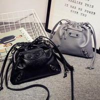 Korean Mini Bags Winter Leather One Shoulder Messenger Bags [6582580359]
