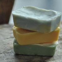 guest soap 3 bars natural vegan handmade with by lingerbathandbody