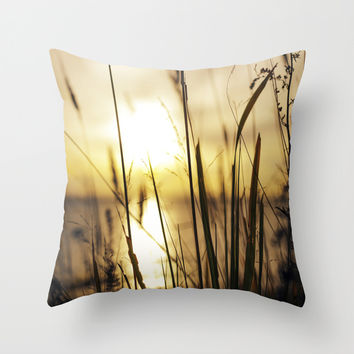 No shades needed Throw Pillow by HappyMelvin