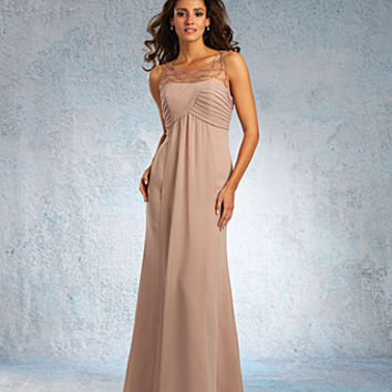 Alfred Angelo Sapphire Bridesmaid Dress 8100L