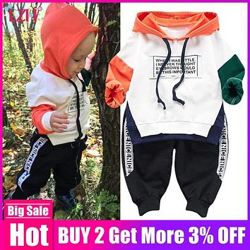 Children Clothing 2019 Spring Winter Girls Clothes 2pcs Outfit Kids Clothes For Boys Sport Suit For Toddler Girls Clothing Sets