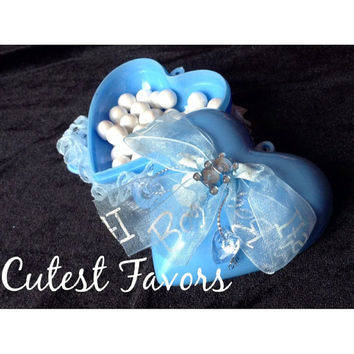 Baby Shower Heart favor box
