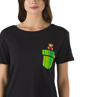 Nintendo Mario Warp Pocket T-Shirt | Shop at Vans