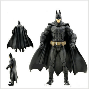 Kids Chirldren Batman Doll 18CM Toys Black/Grey Color (Size: 18 cm, Color: Multicolor) = 1927922308