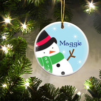 Personalized Kids and Teen Ornament-Perfect Christmas Gift for your Tree!