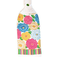 Summer Bright Flowers Kitchen Towel - FREE SHIPPING