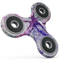 Abstract Colorful WaterColor Vivid Tree V2 Full-Body Fidget Spinner Skin-Kit