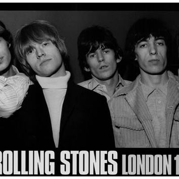 Rolling Stones London 1965 Poster 11x17
