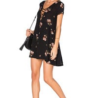AMUSE SOCIETY Ludlow Dress in Black Sands