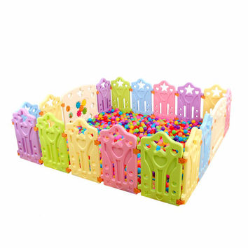 Indoor Baby Playpens Outdoor Children Play Fence Kids Activity Gear Environmental Protection EP Safety Play Yard