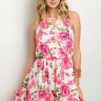 Floral Garden Party Dress