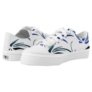 Swirls Printed Shoes