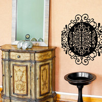 Vinyl Wall Decal Sticker Circular Swirl Pattern #OS_MB116